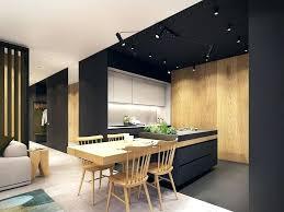 cuisine noir et cuisine noir blanc cuisine blanc et noir ultra design