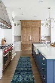 white and wood kitchen cabinet ideas blue white wood kitchen kitchen design home