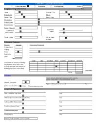 expense reimbursement form authorization travel format vawebs