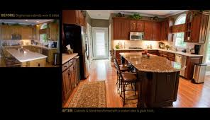 Kitchen Cabinet Restaining by We Are Thinking About Restaining Our Oak Cabinets Did You Do Them