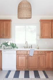 can you paint kitchen cabinets without taking them how to update a 90 s kitchen without painting the cabinets