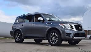 nissan armada 2017 engine 2017 nissan armada road test review