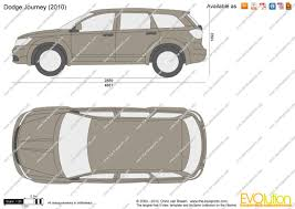 Dodge Journey 2010 - the blueprints com vector drawing dodge journey
