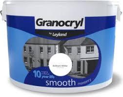 leyland 10lt granocryl masonry paint