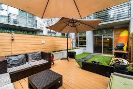 500 Sqft Condo Of The Week 600 000 Gets You A 500 Sq Ft Patio Downtown