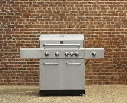kenmore 4 burner lp gas grill with rotisserie burner and side burner