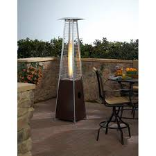 Outdoor Propane Patio Heater Patio Lane Outdoor Commercial Patio Heater With Two Piece Quartz