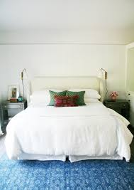 recipe for a cozy and pretty bedroom little green notebook step 2 get a good mattress topper i have and love this one and simple good quality bedding i like to have a pop of color either in the throw pillows or