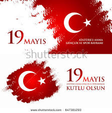august 30 victory day translation turkish stock vector 673121002