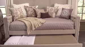 Overstock Com Signal Hills Knightsbridge Chesterfield Day Bed And Trundle