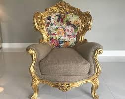 Baby Throne Chair Vintage Antique Gold Silver Interior By Sittinprettybymyleen