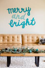 make this merry bright wall diy paper and stitch