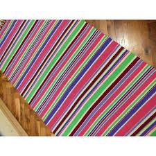 Kilim Rug Runner Handwoven Rug Handwoven Wool Rug Handwoven Striped Rug