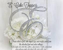 gold letter cake topper wedding cake topper letter m initial cake toppers m monogram