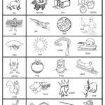 free printable rhyming worksheets for kindergarten free worksheets