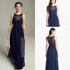 navy blue lace bridesmaid dress bridesmaid dresses with lace vosoi