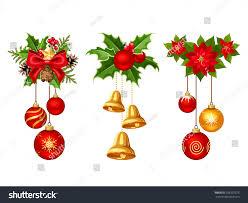 set three vector decorations stock vector 526502275