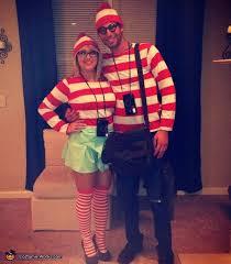 Wheres Waldo Halloween Costume U0027s Waldo Couples Costume Wheres Waldo Homemade
