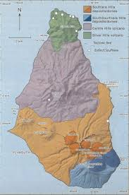 Map Of Jamaica Blank by Caribbean Volcanoes Montserrat Map