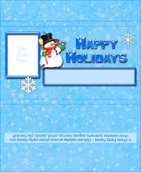 snowman holiday chocolate bar wrapper free printable candy bar
