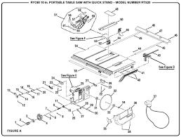 Ryobi Table Saw Manual Ryobi Rts20 10