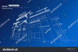 architecture house blueprint stock vector 247985518 shutterstock