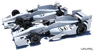 honda aero 3d indycar honda road and oval aero kit cgtrader