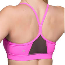 light pink sports bra lululemon pow pink light soot flow y iv activewear sports bra size