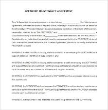licensing agreement template free 100 it service contract template free cleaning contract