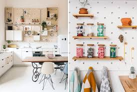pegboard ideas kitchen 9 ideas for pegboard and dowels to create open shelves