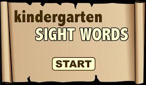 kindergarten sight words android apps on google play