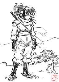 Meme Ninja - sketch meme 6 ninja girl by avary on deviantart