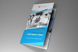 indesign brochure triangle brochure templates creative market
