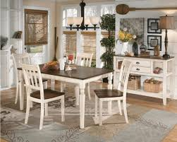 Dining Chairs White Wood Square Dark Wood Top And White Legs Of Dining Table Cream Wall