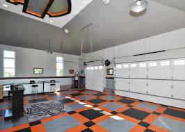 harley davidson flooring motorcycle floor pad garage flooring a harley bar and shield themed garage