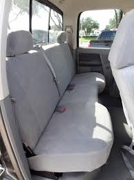 2006 2008 dodge ram 1500 3500 crew cab rear solid bench seat with
