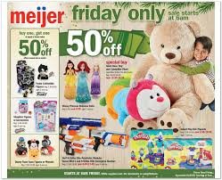 when does target black friday preview sale starts on wednesday meijer black friday 2017 ads deals and sales