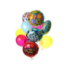 balloons get well soon get well mylar balloon bundle formylar balloons