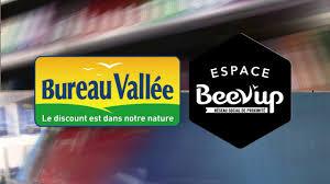 logo bureau vallee le concept beevup de bureau vallée on vimeo