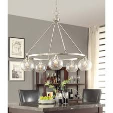 brushed nickel dining room light fixtures marisol brushed nickel 5 light chandelier decorating pinterest