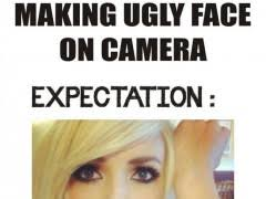 Ugly Smile Meme - making an ugly face on camera weknowmemes