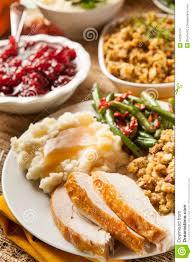 thanksgiving turkey meal homemade turkey thanksgiving dinner stock images image 34335734