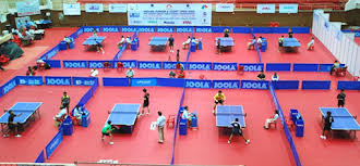 ping pong table playing area what s the difference between an indoor and outdoor table tennis table