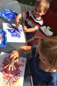 kids korner 4th of july firework craft fit4mom eastside