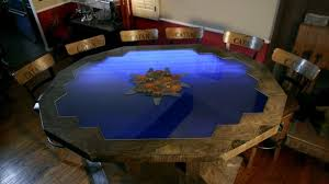 Gaming Coffee Table This Custom Settlers Of Catan Table Is A Work Of Art Geek And Sundry