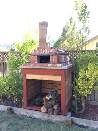 Backyard Brick Pizza Oven Build In One Day Arched Brick Pizza Oven Make