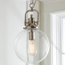 clear glass light fixtures clear glass globe industrial pendant shades of light