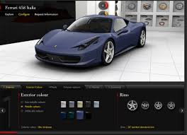 customize your own design your own car