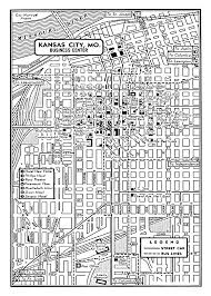 jccc map this is reproduction of a vintage 1947 map of the downtown area of
