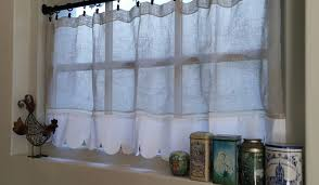 beautiful linen café curtains for windows homesfeed